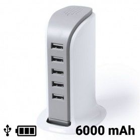 USB Desktop Charger 6000 mAh 145309