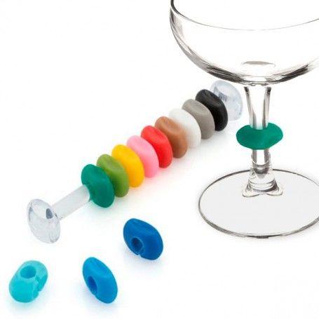 Wineglass Identifier (12 pcs) 144505
