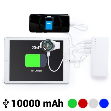 Power Bank with Triple USB 10000 mAh 145779
