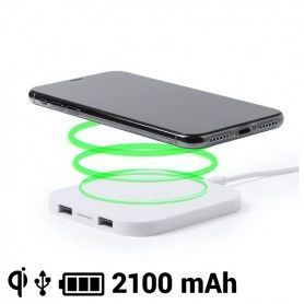 Qi Wireless Charger for Smartphones 2100 mAh USB 145764