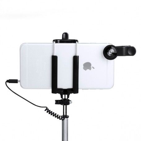 Set of Selfie Stick with Lenses (5 pcs) 144940