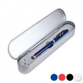 Bolígrafo con Láser LED y Puntero de Goma 144654