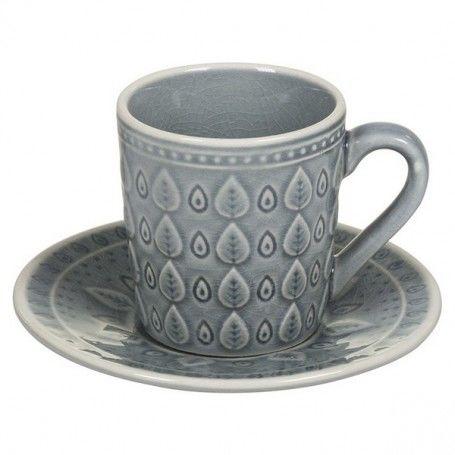 Tasse avec sous-tasse Natural (15 X 15 x 10 cm)