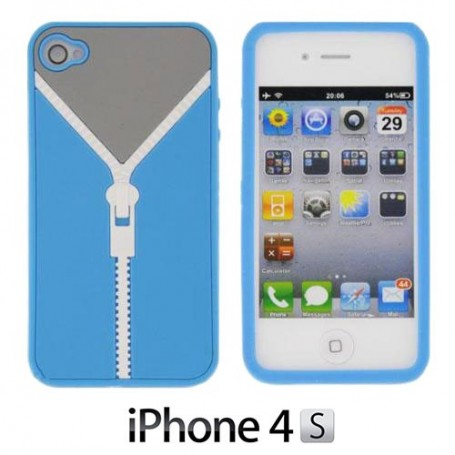 Funda iPhone 4/4S Cremallera Gadget and Gifts