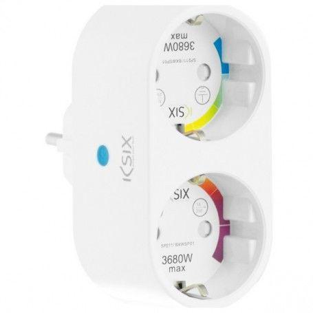 Prise Intelligente Smart Energy Duo WIFI 250V Blanc