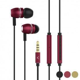 Auriculares con Micrófono Go & Play Sky Aluminio