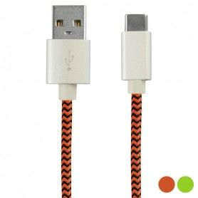 Cable USB-C 2.4A 1 m