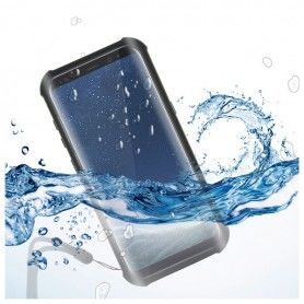Waterproof case Samsung Galaxy S8+ Aqua Case Black Transparent