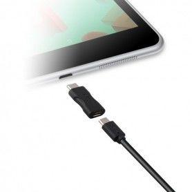 USB 2.0 to USB-C 3.1 Adapter Black