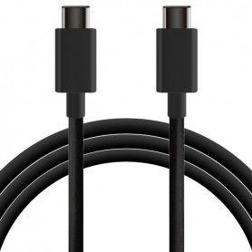 Cable USB-C a USB-C 1 m Negro