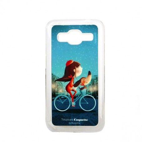 Mobile cover Samung Galaxy Core Prime Bagmovil Bicycle