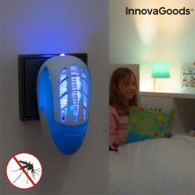 Enchufe Antimosquitos con LED Ultravioleta InnovaGoods