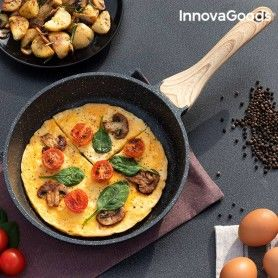 Poêle Premium Effet Granite InnovaGoods (24 cm)