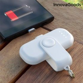 Power Bank Magnétique Universel InnovaGoods 1000 mAh