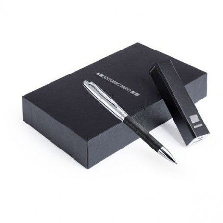 Biro and Power Bank Set Antonio Miró 2200 mAh 147320