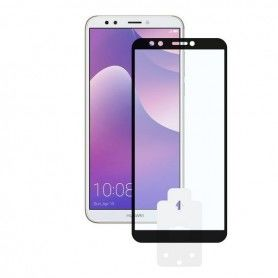 Tempered Glass Mobile Screen Protector Huawei Y7 2018 2.5D Black