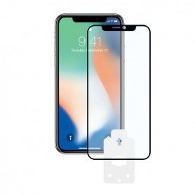Tempered Glass Mobile Screen Protector Iphone X, Xs 2.5D Black