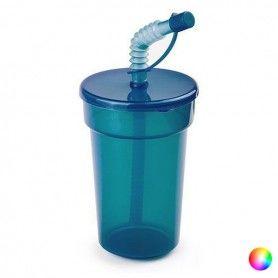 Vaso con Pajita (400 ml) 144688