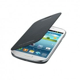 Folio Mobile Phone Case Samsung Galaxy Express I8730 Grey