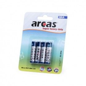 Batteries AAA/R03 1,5V (4 uds) 142309