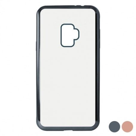 Mobile cover Samsung Galaxy S9 Flex Metal TPU Flexible
