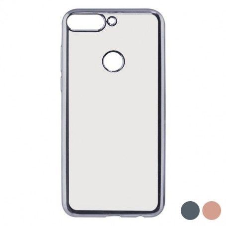 Mobile cover Huawei Y7 2018 Flex Metal TPU Flexible