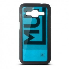 Mobile cover Samsung Galaxy Core Munich Color Line Polycarbonate Black Blue