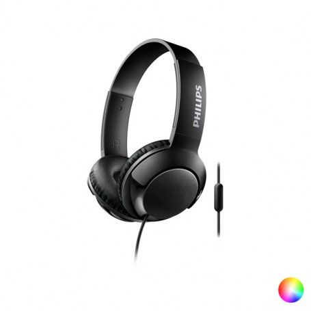 Headphones with Microphone Philips SHL3075/10 BASS+ 40 mW (3.5 mm)