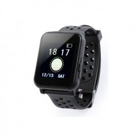 "Montre intelligente 1,44"" LCD Bluetooth Noir 146147"