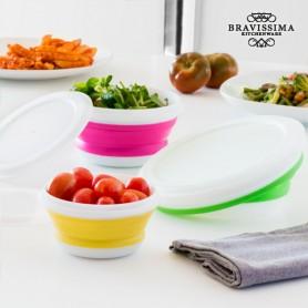 Bravissima Kitchen Folding Food Storage Containers (3 pieces)