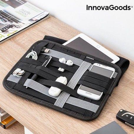 Étui pour Tablette avec Organisateur d'Accessoires Flexi-Case InnovaGoods