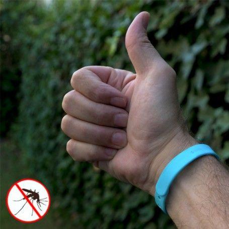 Bracelet Anti-moustiques à la Citronnelle (Pack de 3)
