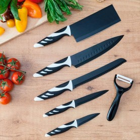 Cecotec Top Chef Black C01024 Knives (6 pieces)