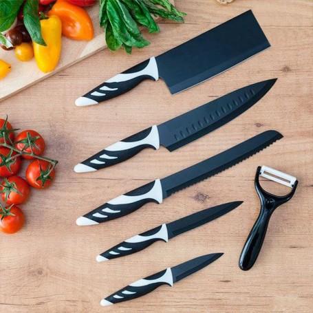 Cecotec Top Chef Black C01024 Knives (6 pieces)